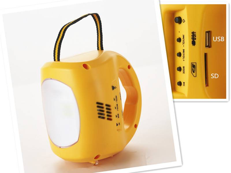 2015 New Design for Large Outdoor Solar Lights, Solar Camping Lights Portable Solar Lanterns With MP