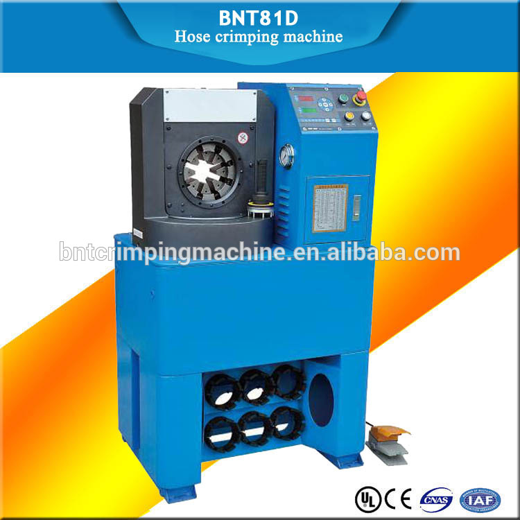 BARNETT BNT81D High quality 10sets dies manual finn-power hydraulic hose crimping machine for sale