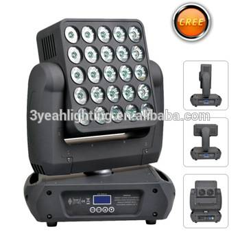 25*15W Moving Head Matrix Panel Beam Disco Stage Light LED Moving Head Matrix Beam LED
