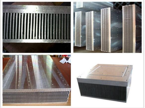 Extrusion Aluminum Heat Sink Aluminum Products Aluminum Profile of 6063 Material