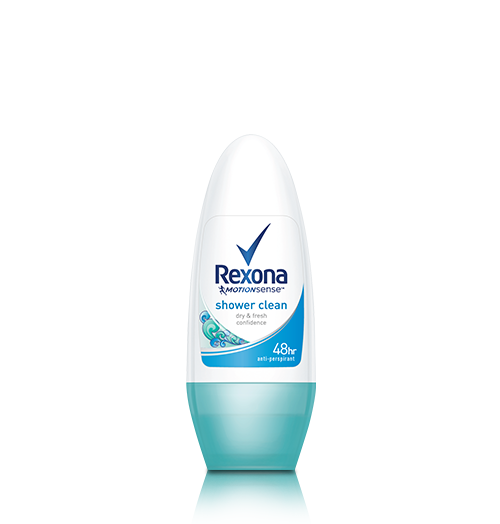 REXONA SHOWER CLEAN ROLL-ON