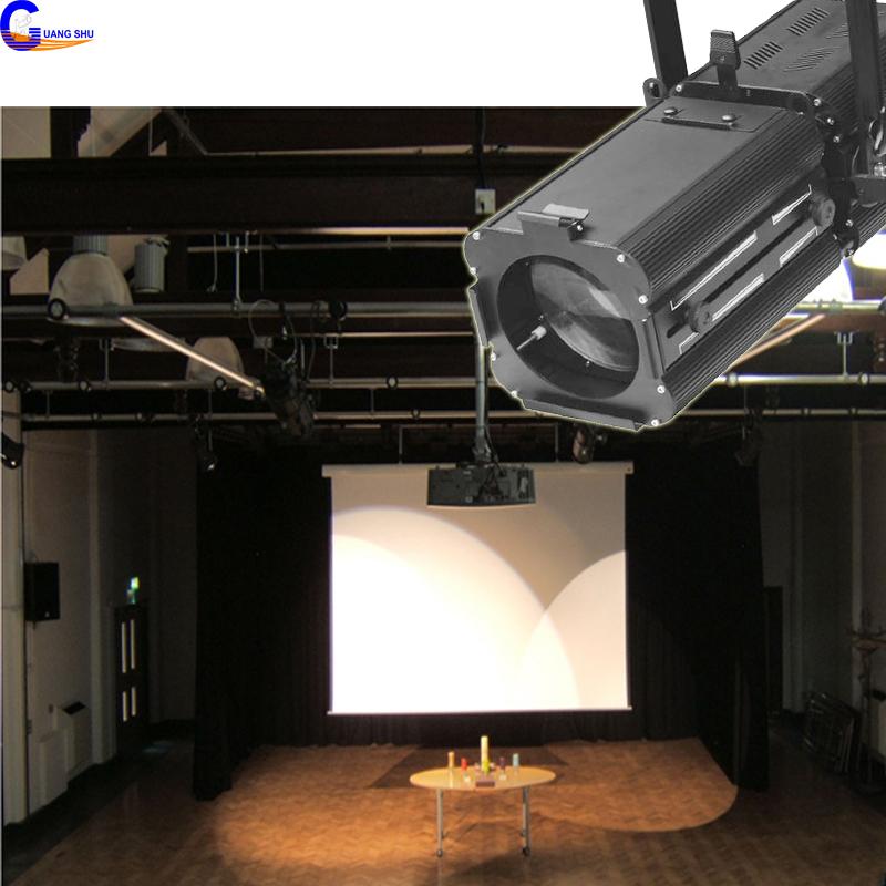3200K Professional DMX White COB LED 200W LED Studio Profile Spotlight Film Shooting Light