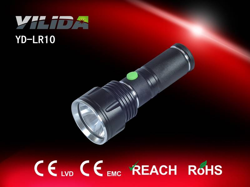 Newest CREE 3W LED flashlight with lithium battery