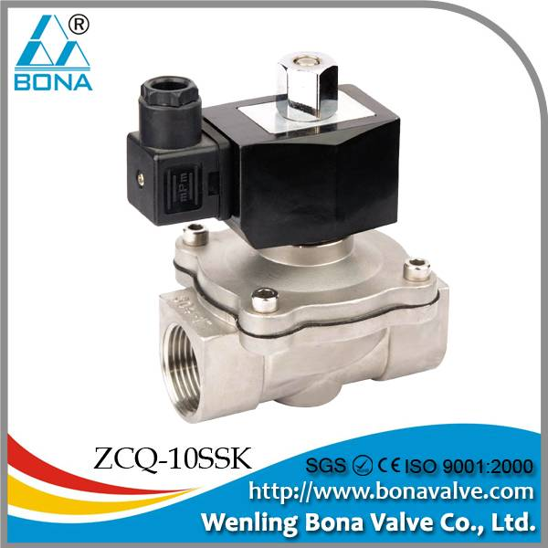 ZCQ-09SS solenoid valve for water or air