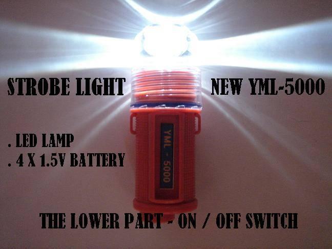 Strobe light - Model : YML-5000 (LED flash light)