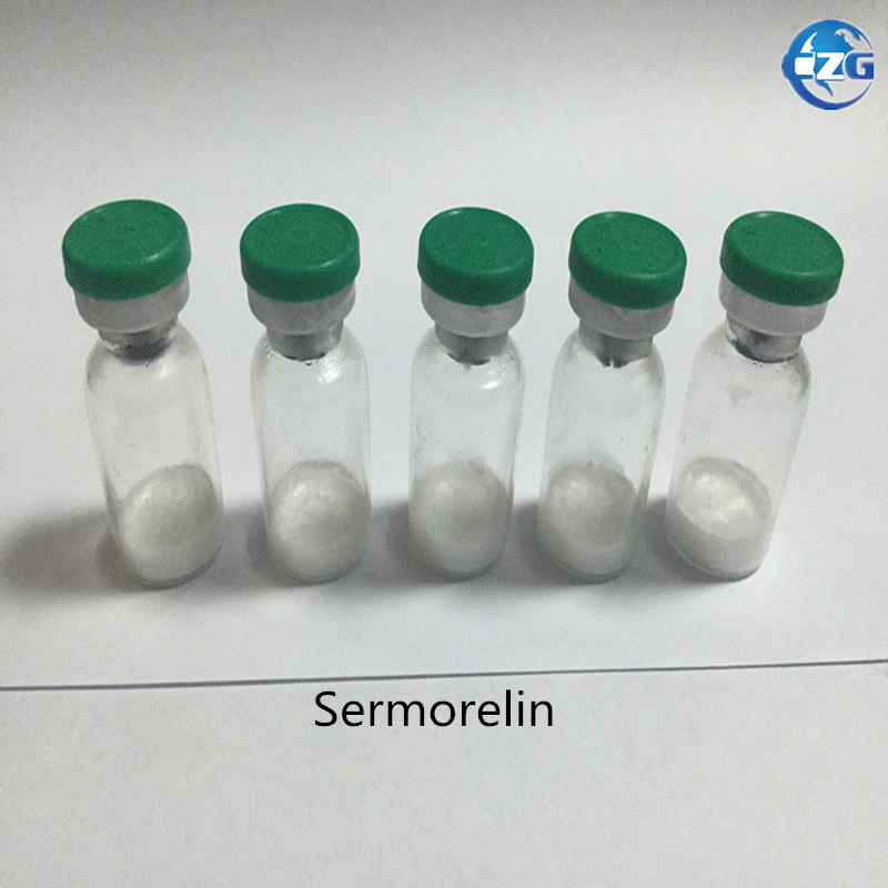 99% Purity  5mg/vial,10vial/box GMP Grade Peptide Sermorelin