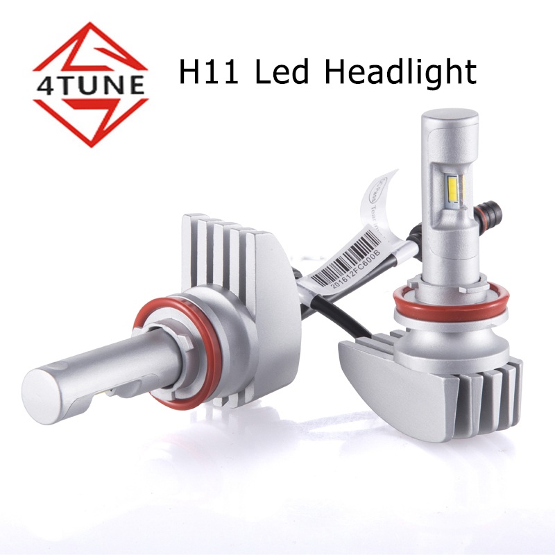 2017 newest 38w CREES led headlight h1 h4 h7 h8 h9 H11 9005 9006 car led headlight 4000 lumens