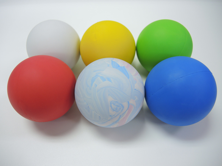 OEM silicone rubber solid or hollow ball