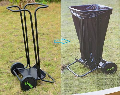 ECO Friendly Garden Waste Collecting Cart
