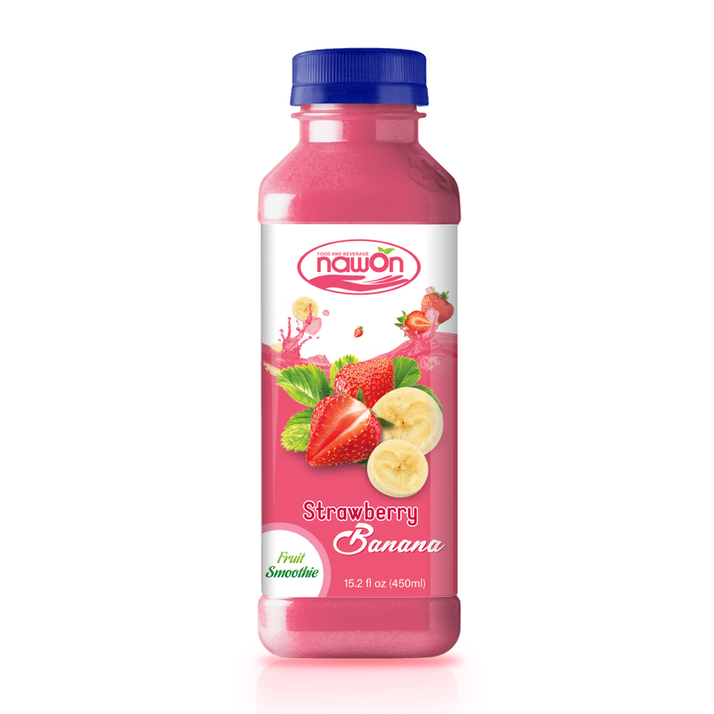 NAWON Bottle Fruit Smoothie Strawberry with Banana