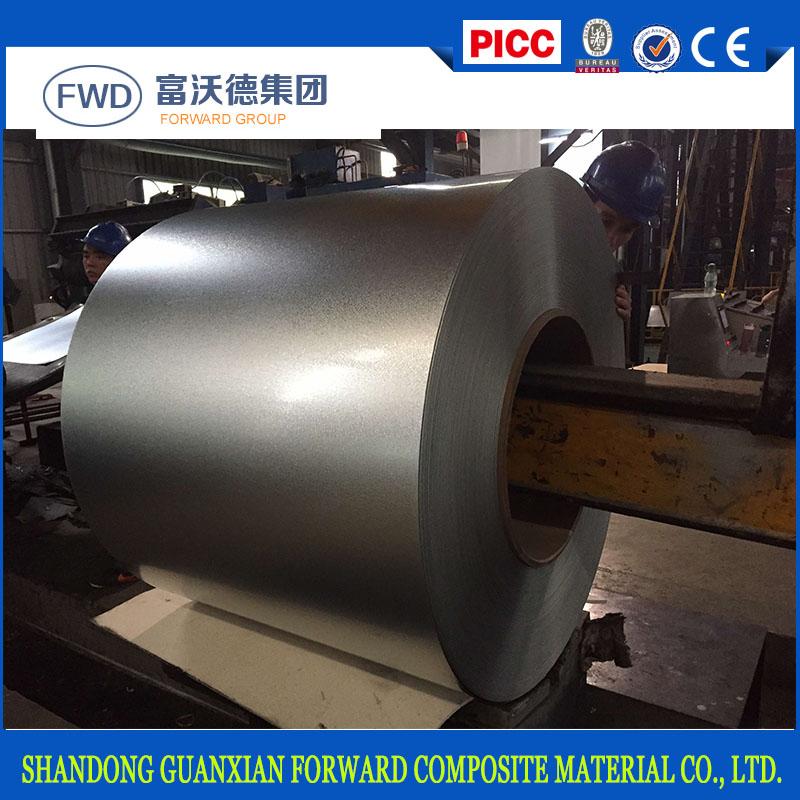 Prime antifinger full hard G550 aluzinc steel sheets for roofing material