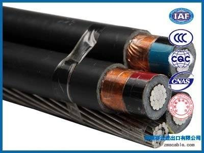 Aluminium 11kv aerial bunched cable