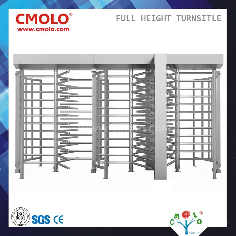Three-Door Automatic Full Height Turnstile (CPW-223AF)