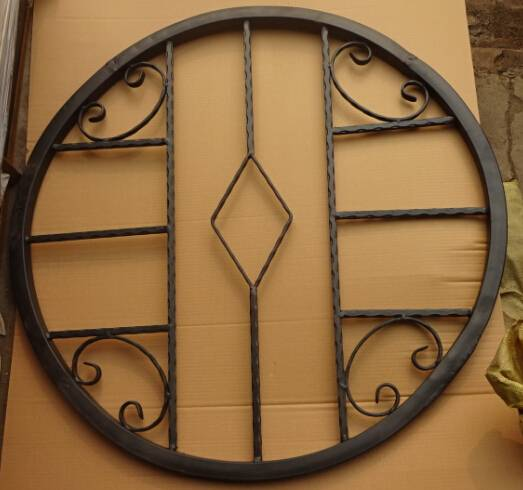 Wrought iron/Forged steel window