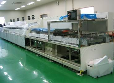 Automatic LCD liquid crystal substrate cleaning equipment