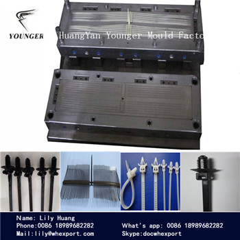 nylon cable tie injection molds for automotive auto car