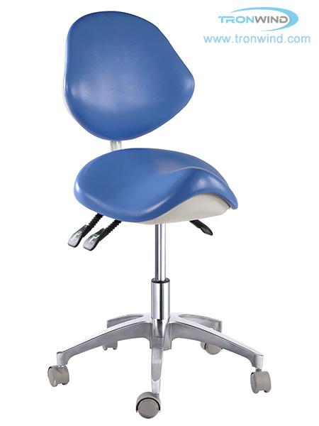 Saddle stool TS04, Saddle chair, dental stool, medical doctor stool, Lab chair