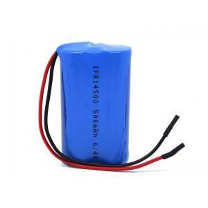 6.4v 500mAh lifepo4 battery