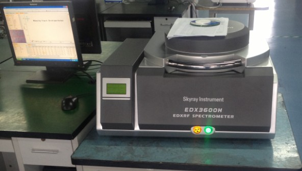 Mine machine xrf analyzer /EDX3600H
