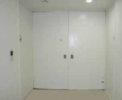 Large size steel insulated door