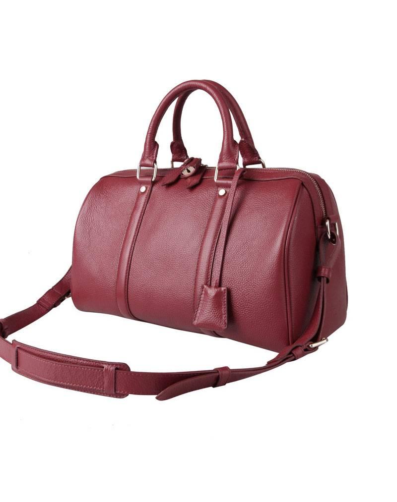 Authentic Leather Oxhide Handbag Shoulder Bag Messenger Bag
