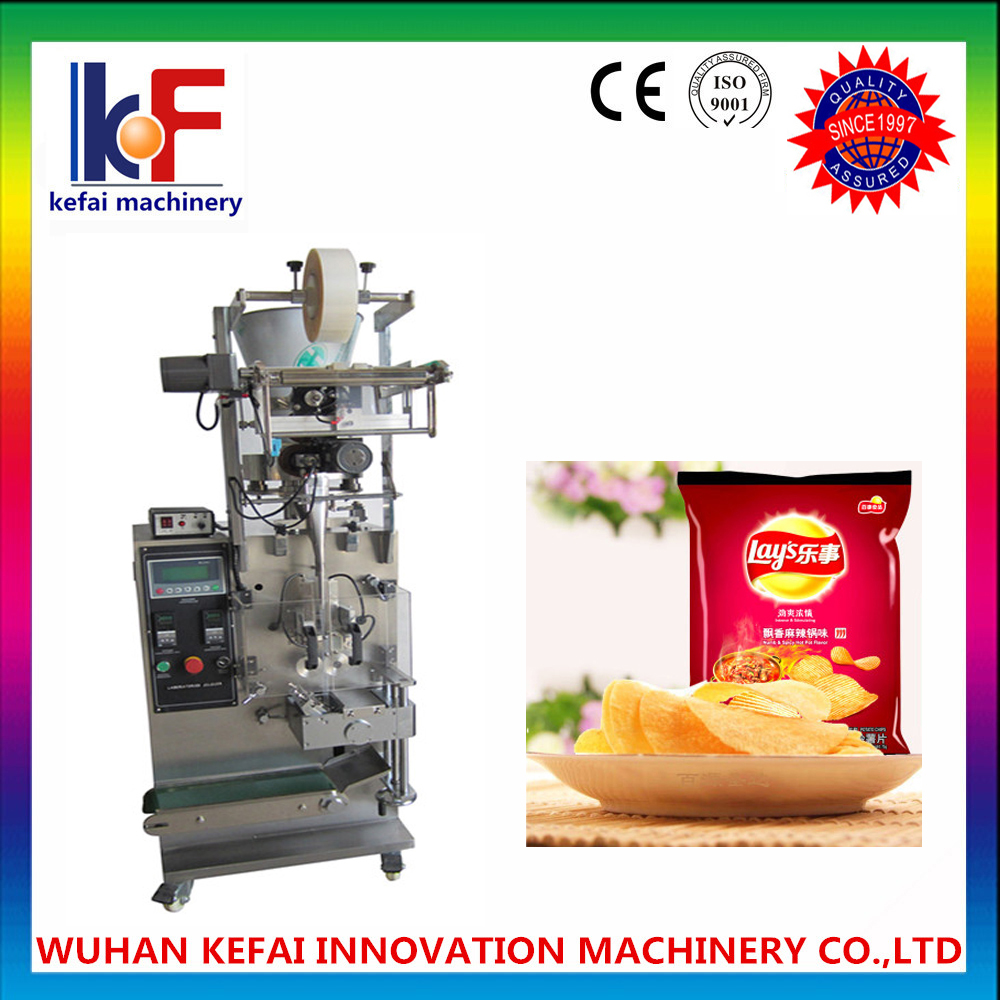 Automatic combination electric multihead weigher for puffed food packaging machine