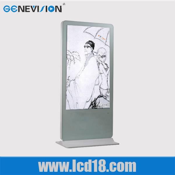 52 inch outdoor waterproof full hd floor standing digital advertising player