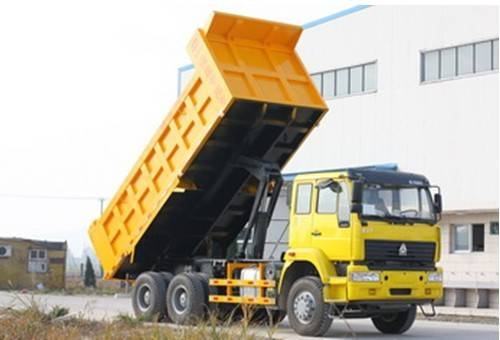 5.7Meters Middle Tipping Dump Truck