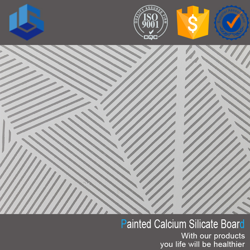 Decorative Embossed Calcium Silicate Board
