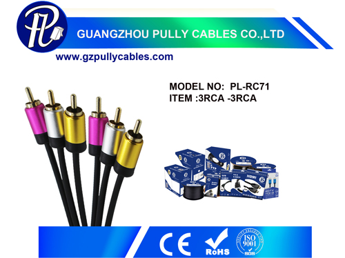 3RCA Cable