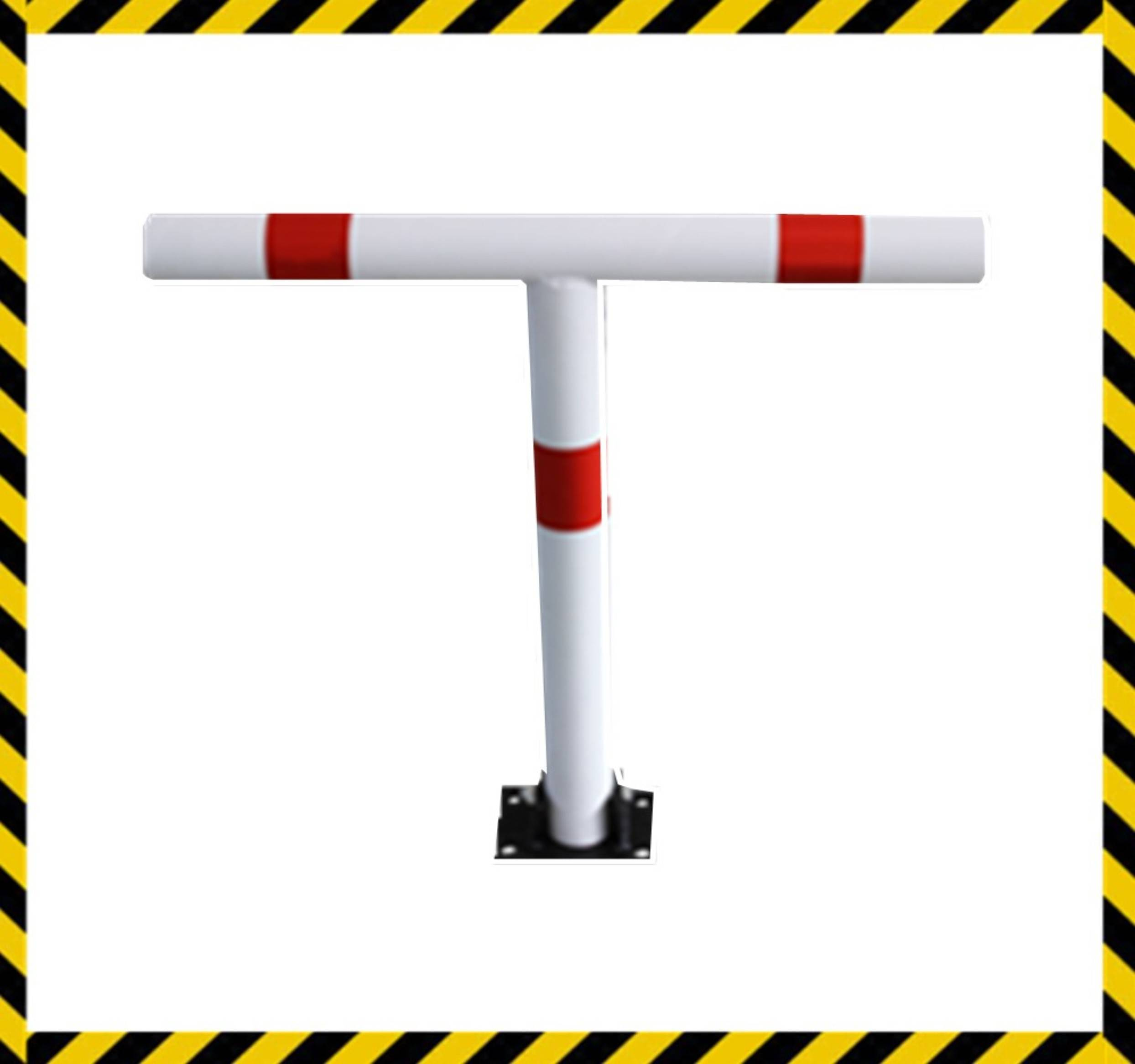 manual silver or yellow car park barrier road barrier