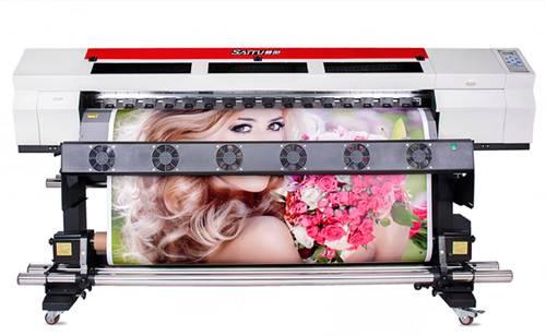 SAITU 1.6M Single Head Large Format Inkjet Printer