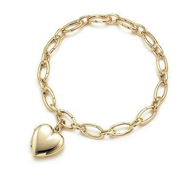 Heart Locket On a 75 inches Bracelet
