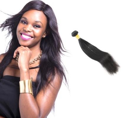 [8A]1 Bundle Malaysian Straight Hair Weave
