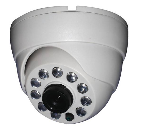 IR plastic Dome Camera SJ25-10-A with CE, FCC certificates