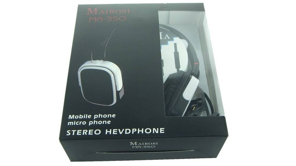 Noise Cancelling Wired Rotatable Music Headphone, Headset