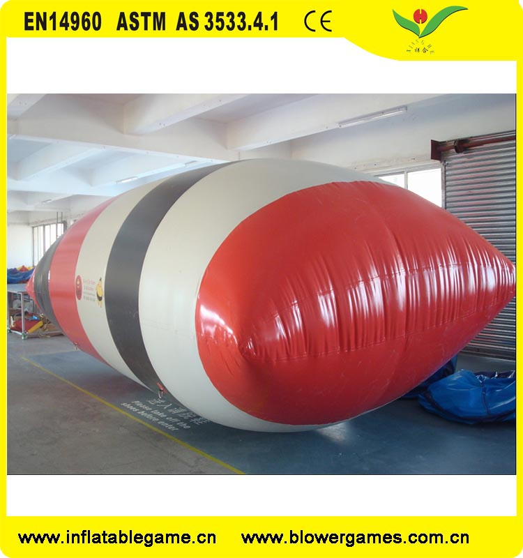 Amazing Water Game Equipment Inflatable water air bag blob balloon water blob jump