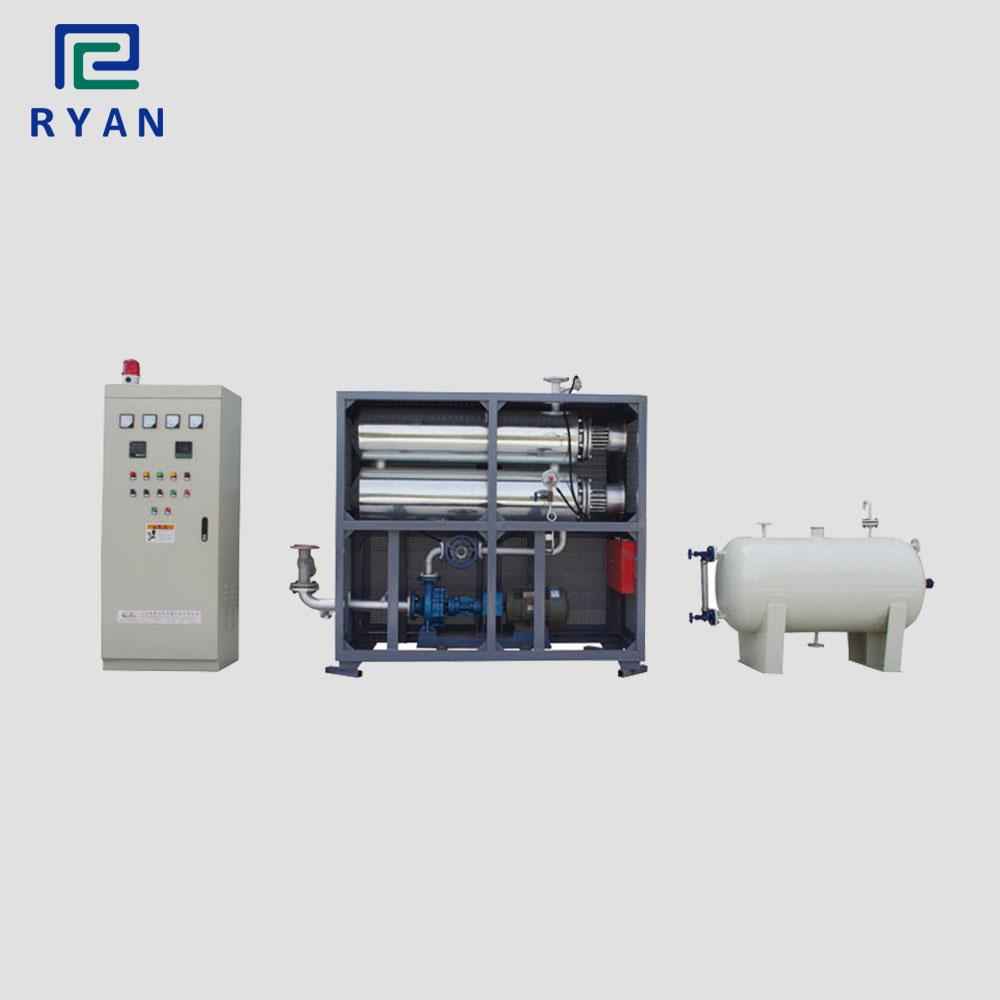Electric heating thermal transfer oil boiler for roller