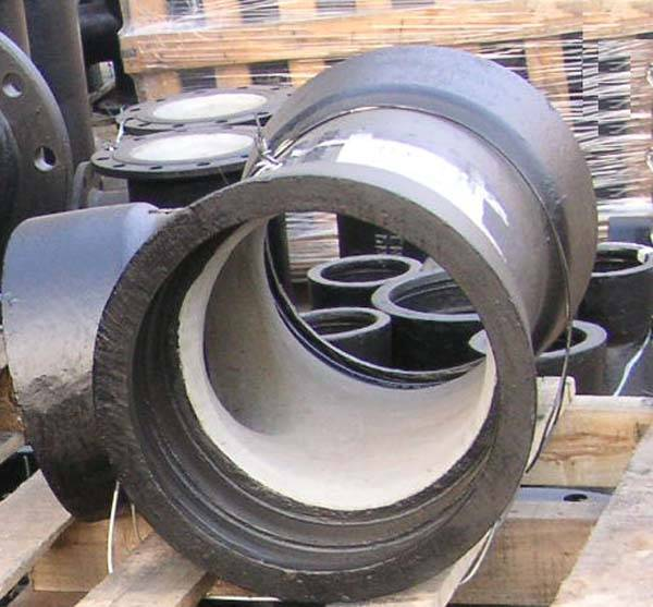ISO2531 ductile iron pipe fittings