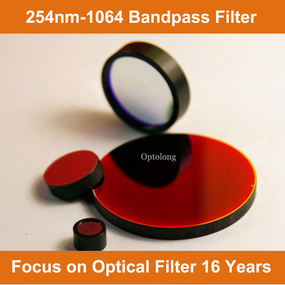 520nm Interference Optical Narrow Band pass Infrared Filters are used IR Thermal Imaging & Thermal S