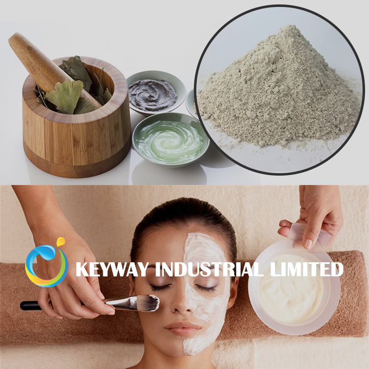 cosmetic clay bentonite for face mask