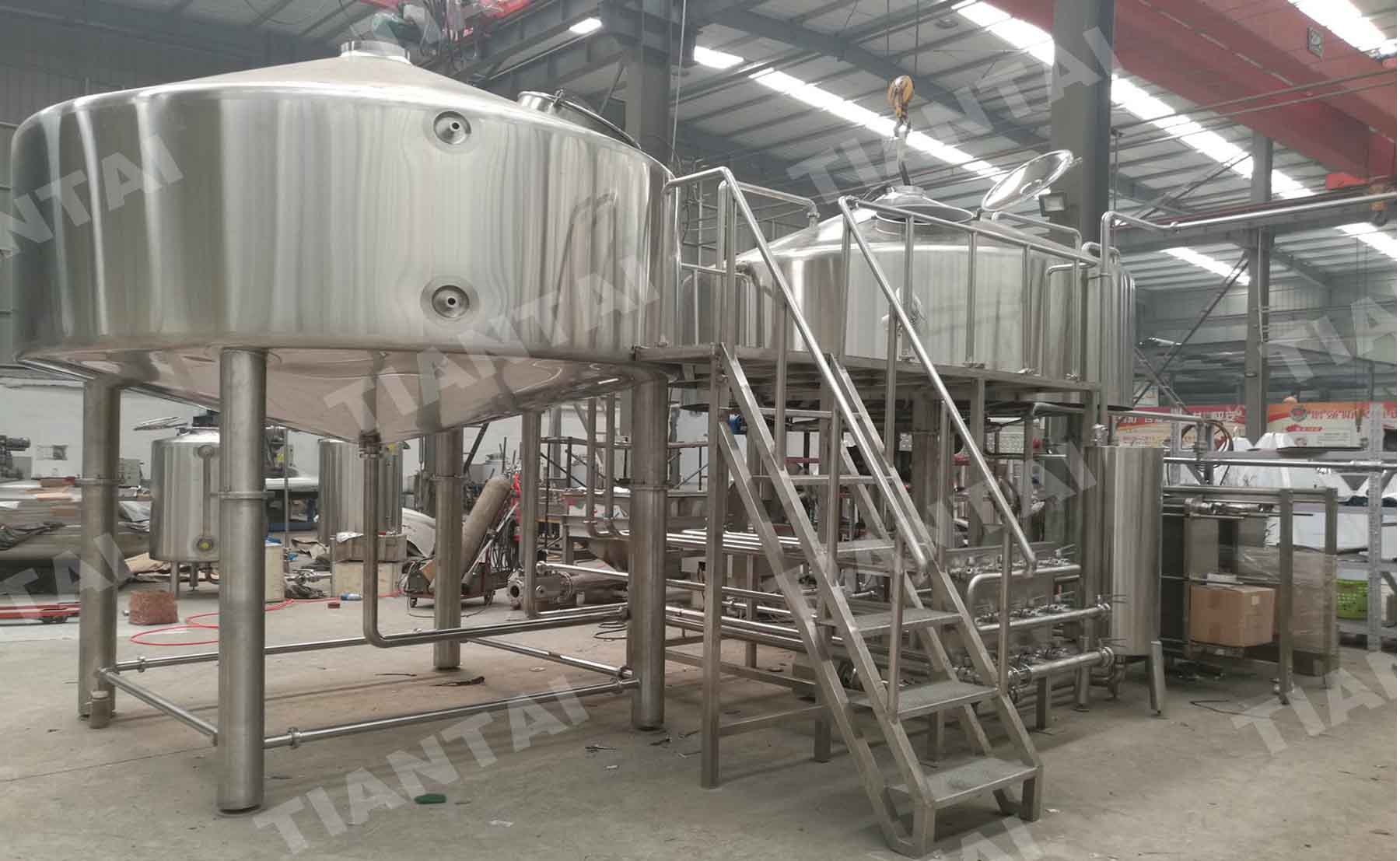 20 Bbl Red Copper Mashing Equipment