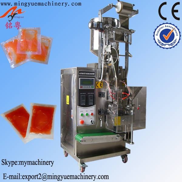 automatic liquid shampoo sachet packing machine