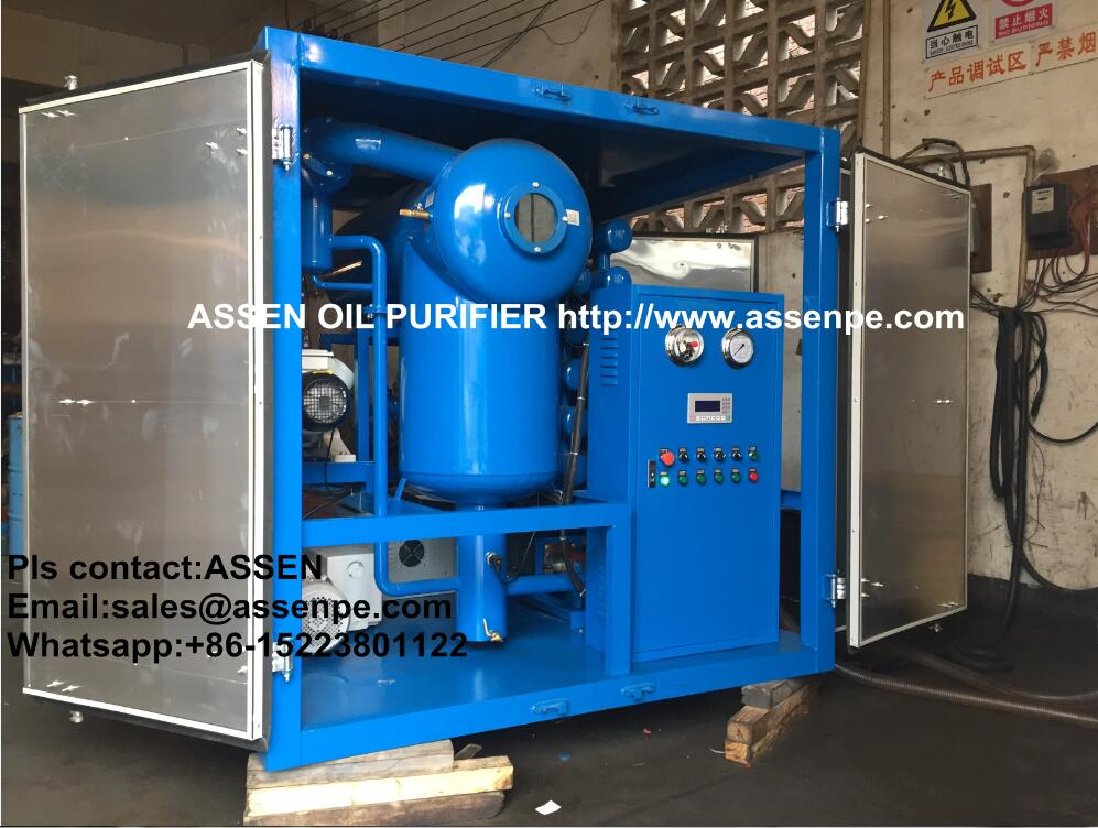 Fully automated ZYD High vacuum Transformer Oil Purifier machine