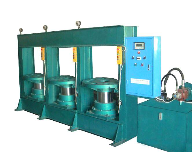 tire flap vulcanizing machine