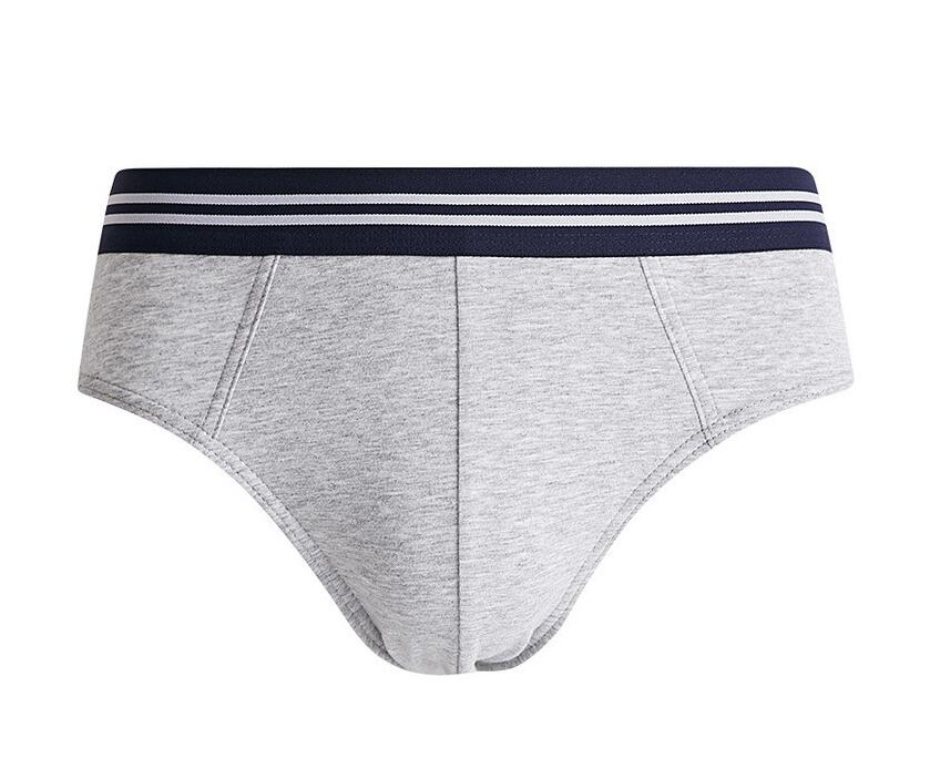 Men's breathable low rise customized briefs