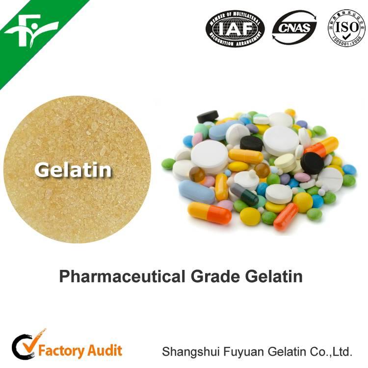 Pharmaceutical Gelatin 250bloom for hard caspule