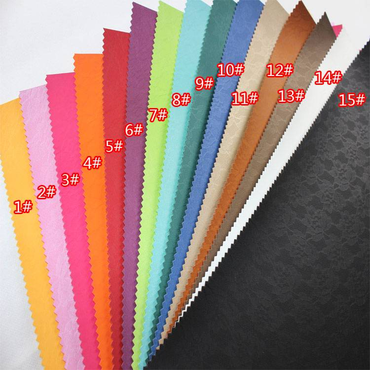 LACE Synthetic PU material/Thermo discolor leather/POAM UP PU fine stick emboss