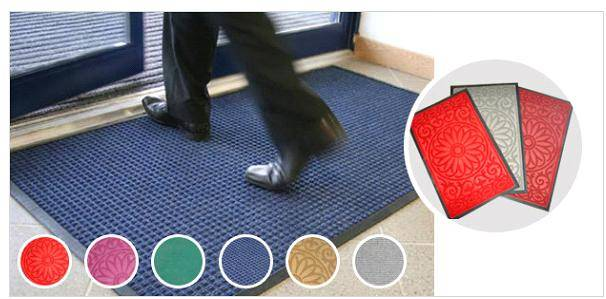 Entrance Door Rubber Mat (indoor)