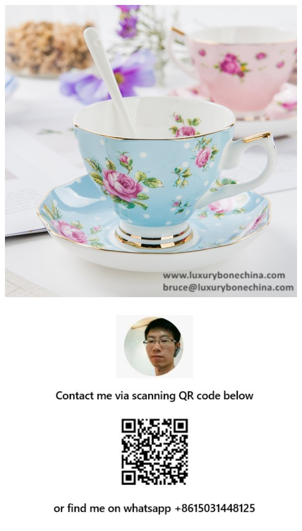 Bone China Tea Cups Porcelain Factory Direct Supply Contact Now